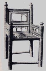 Silla romanico historia del mueble pinterest sillas historia y hogar - Muebles en santiago de compostela ...