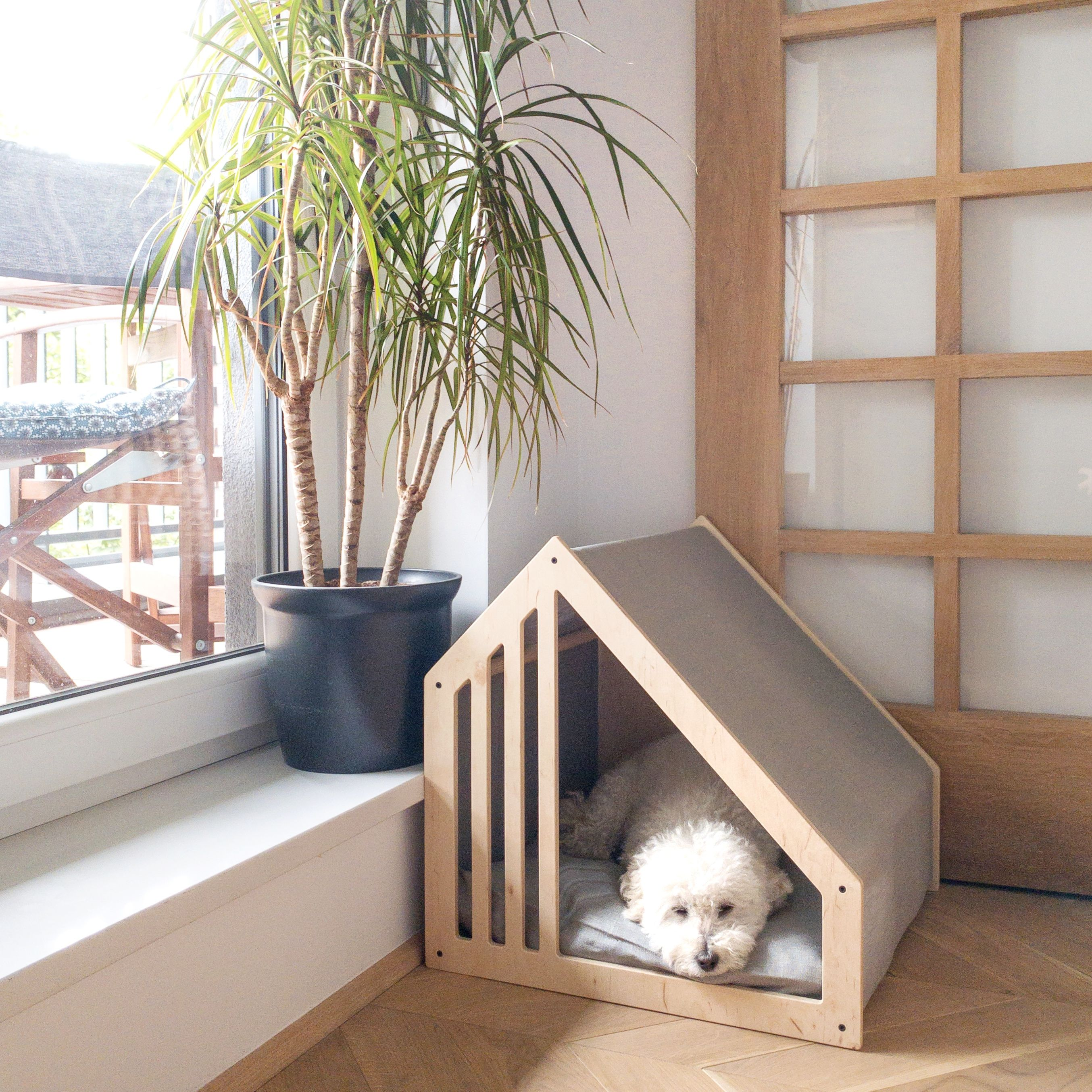 Scandinavian Style Dog House Modern Dog Houses Dog House Bed Dog House Diy