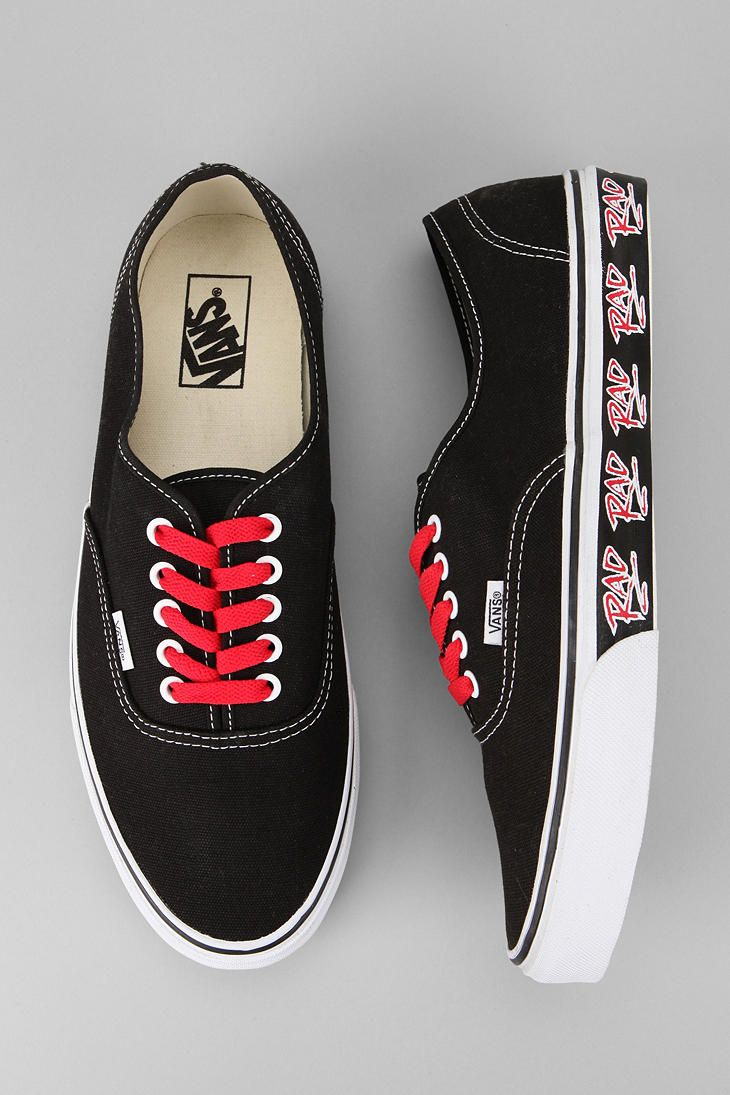 dd70f104b483 Rad graphics.  BMX  urbanoutfitters. Vans Rad Pack Authentic ...