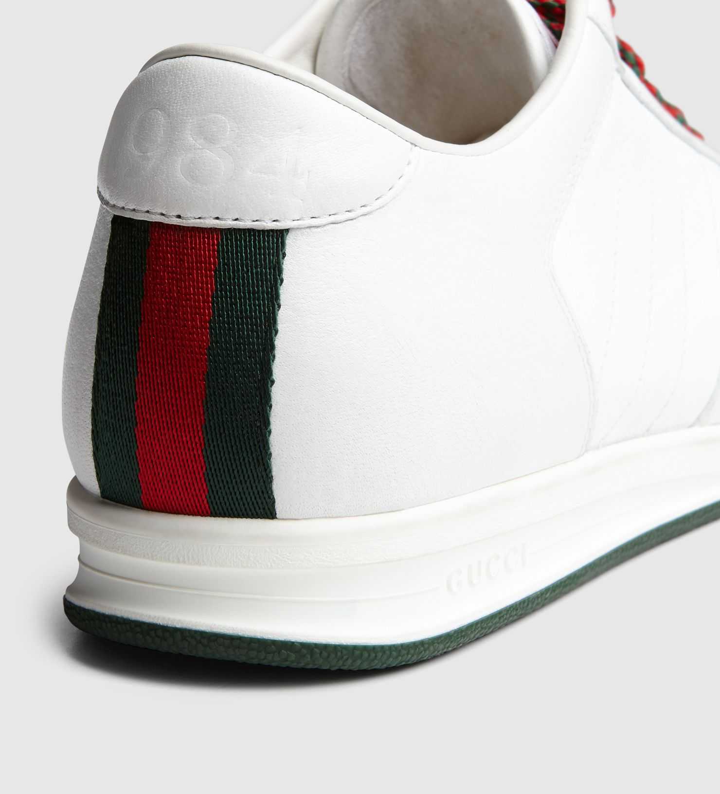 f07df1787 Gucci 1984 Low Top Sneaker in Leather. The 1984 collection celebrates the  anniversary of the
