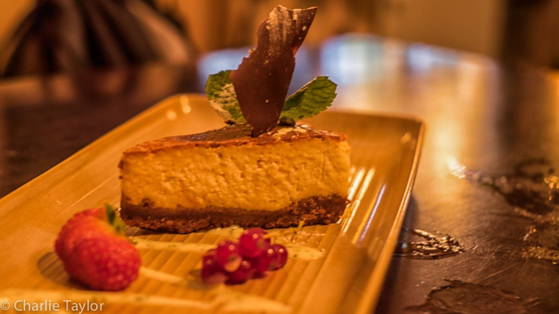 Creamy and Light, Baked Lemon Cheesecake. (Photo Credit: Charlie Taylor) #sweet #food