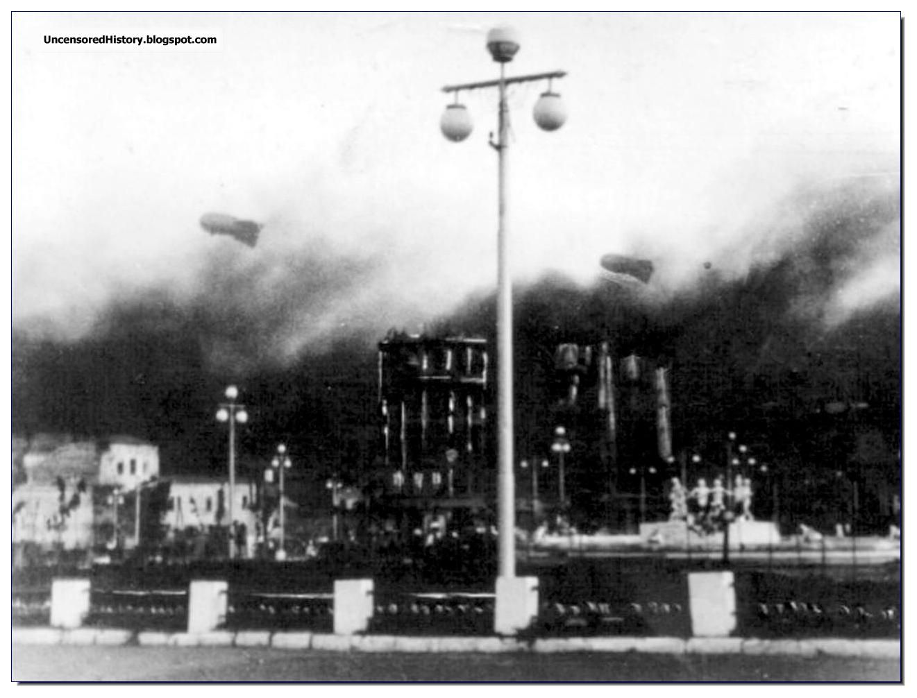 The sky of Stalingrad