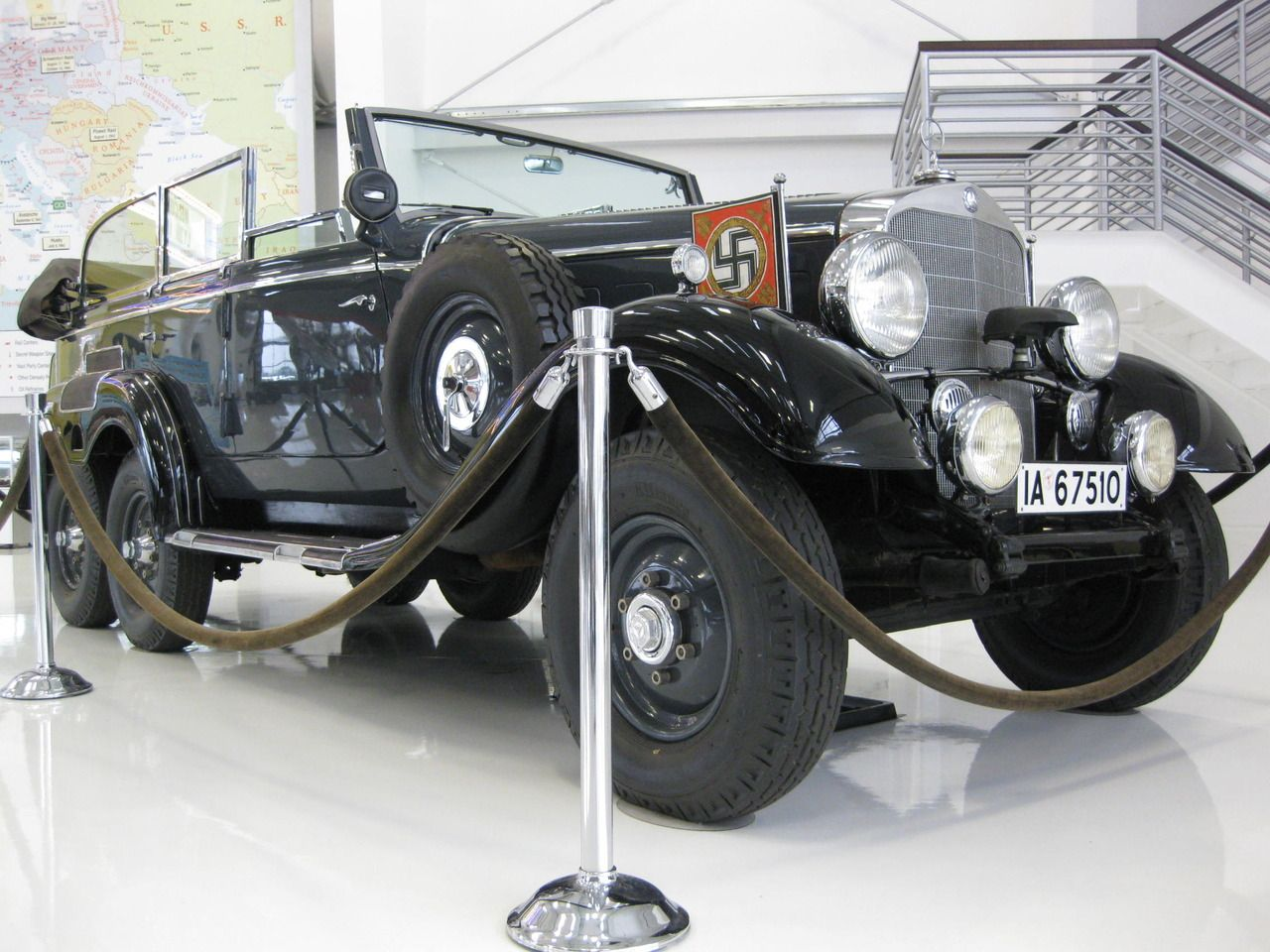 Hitler s mercedes 1938 mercedes benz wehrmacht military for Mercedes benz of henderson staff