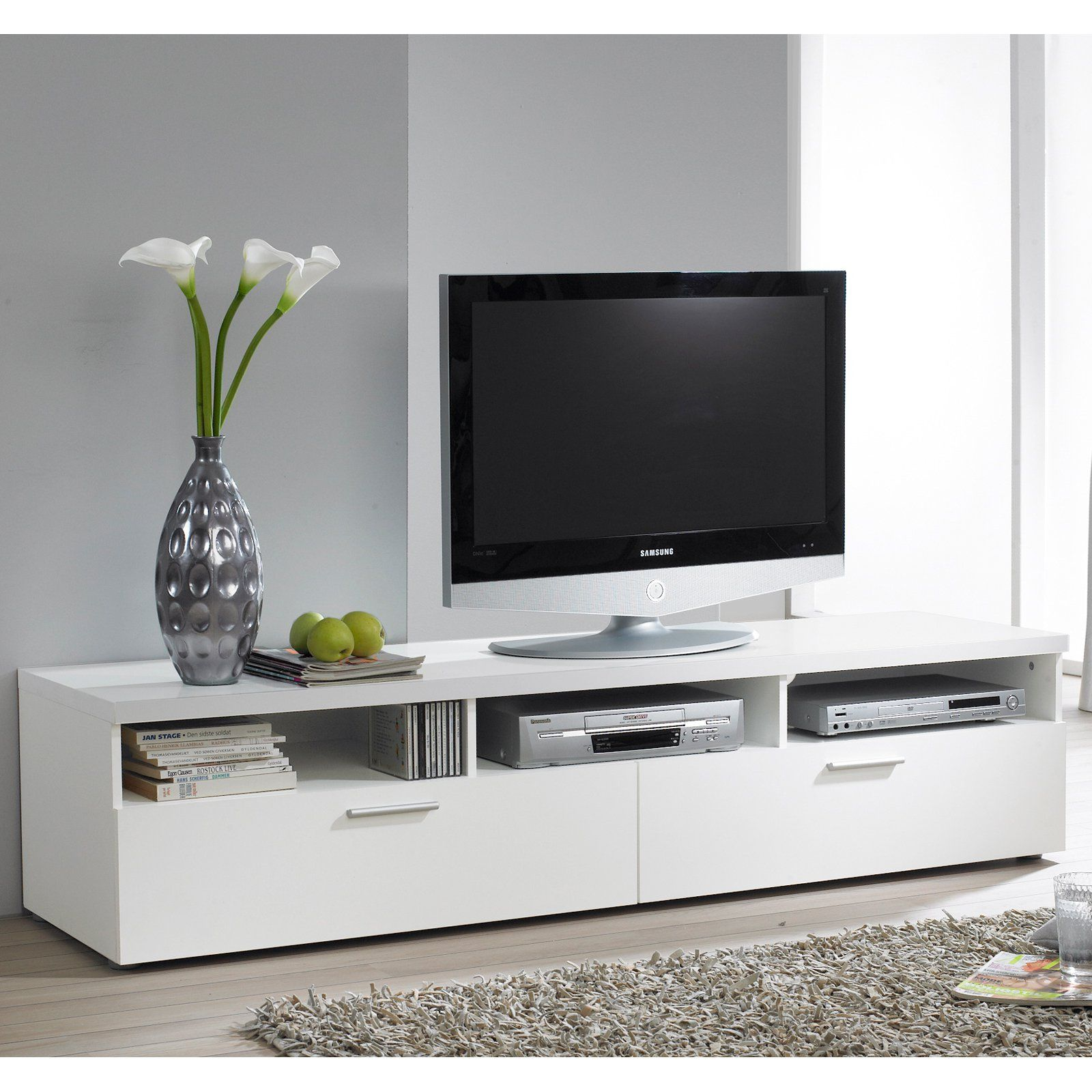 Tvilum Hayward Collection 71 In Tv Stand White Tv Stands