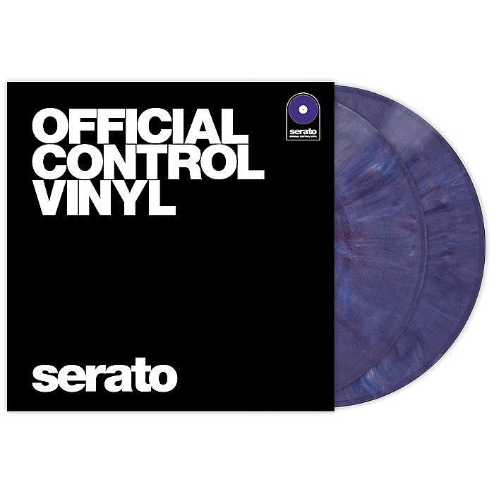 Serato Serato Standard Colours 12 Inch Control Vinyl Purple Pair Vinyl Juno Records Purple Colours