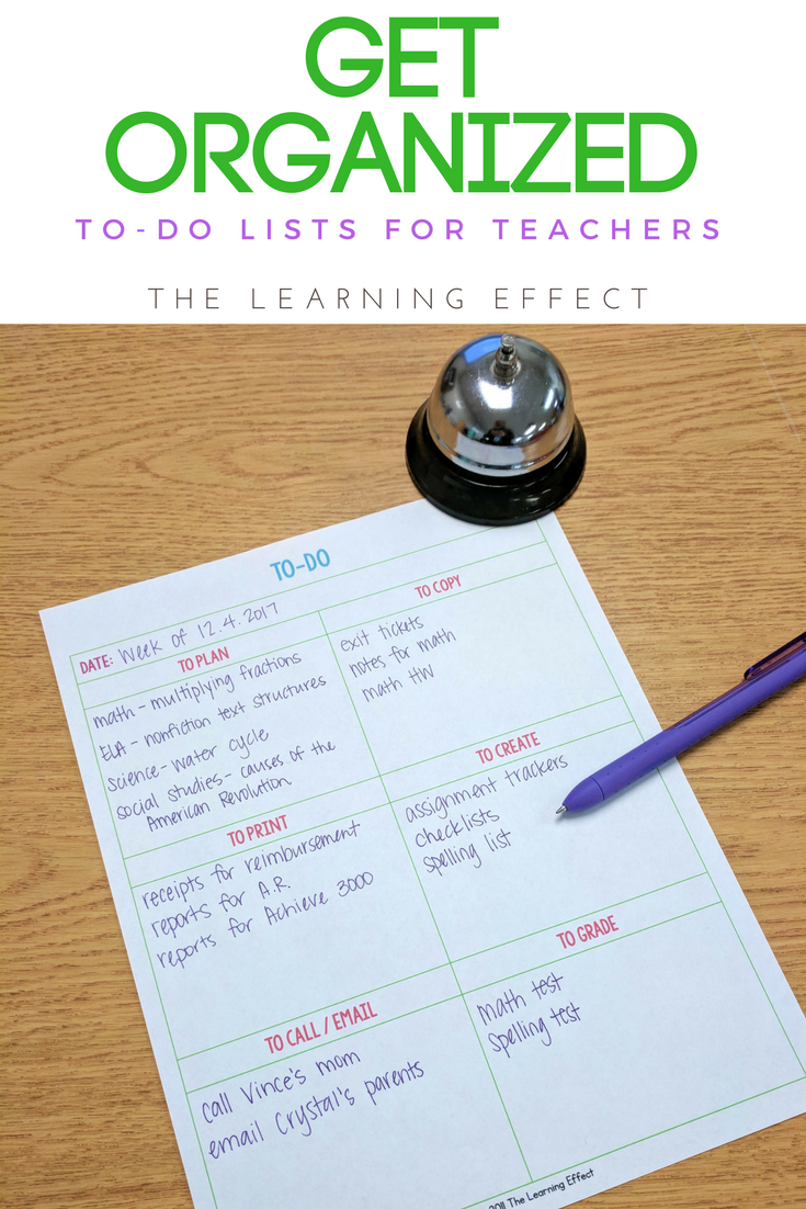 Get Organized And Be Productive With This To Do List Printable For Teachers This Template Is Editable So You Can Custo Teacher To Do List Teacher Organization