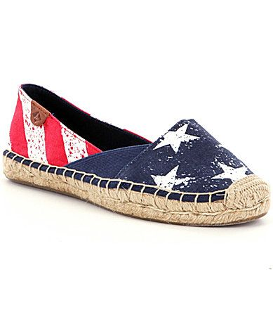 61a30e921269 Sperry Cape Stars and Stripes Womens Espadrilles  Dillards