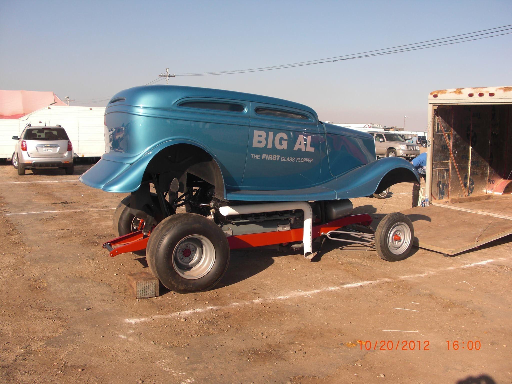 Big Al drag car: built by Jim Lytle used an Allison aircraft engine ...