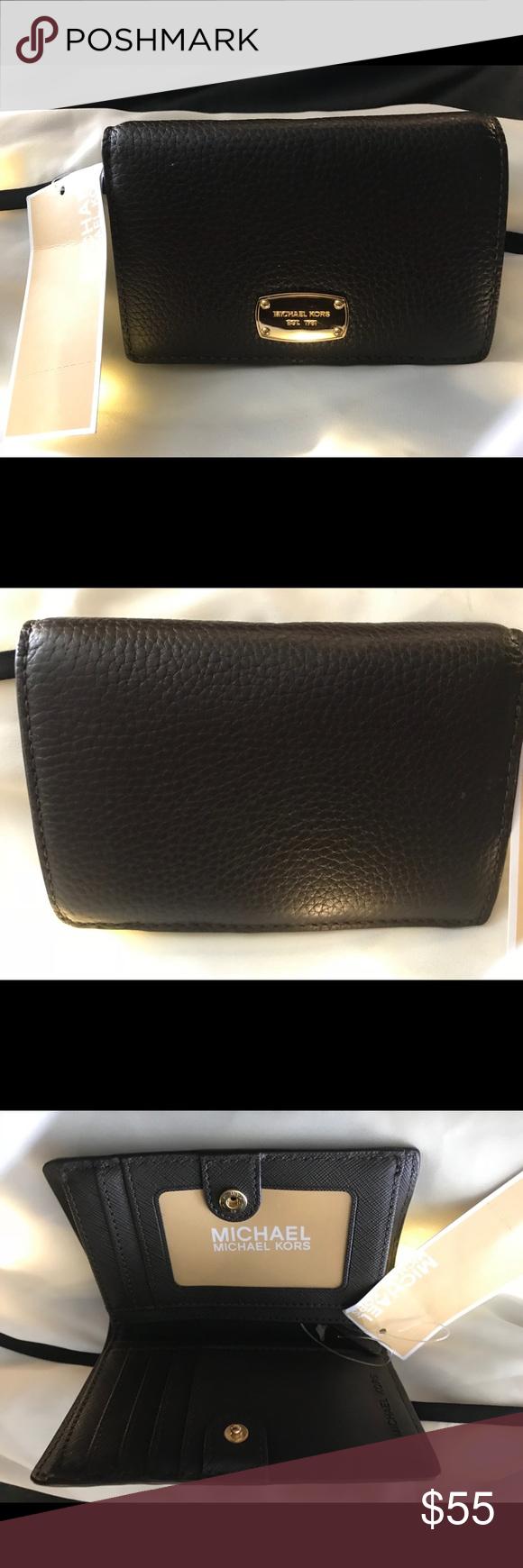 Wallet jet set Slim wallet 100% leather Michael Kors Bags Wallets