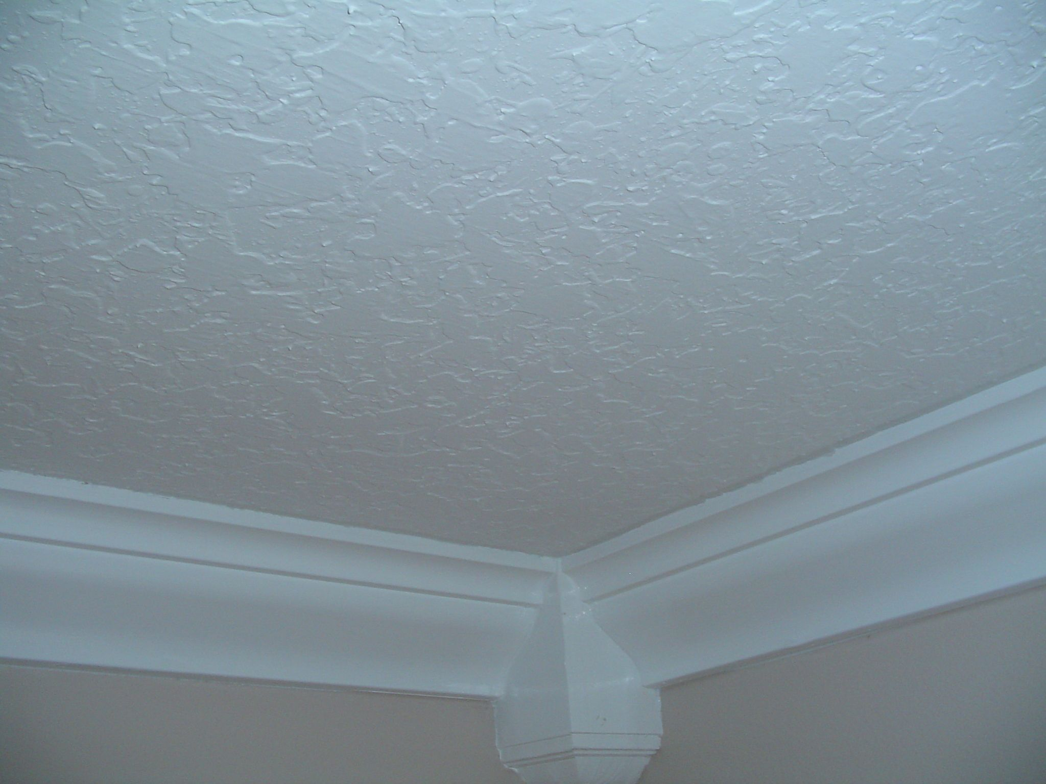 knockdown ceiling texture - spanish lace or mediterranean texture