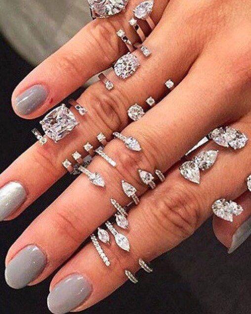 17972372f7aba Open cuff diamond midi ring,stacking boho ring,wedding accessories ...