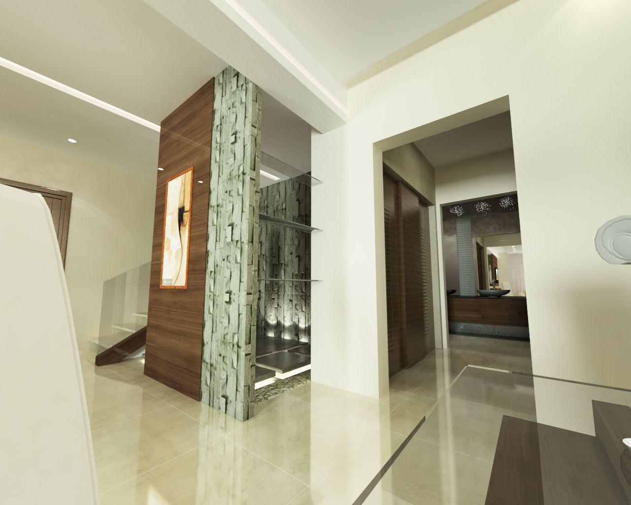 Interior Design Proposal Ground Floor Villa Interior Project  # Muebles Rudnick