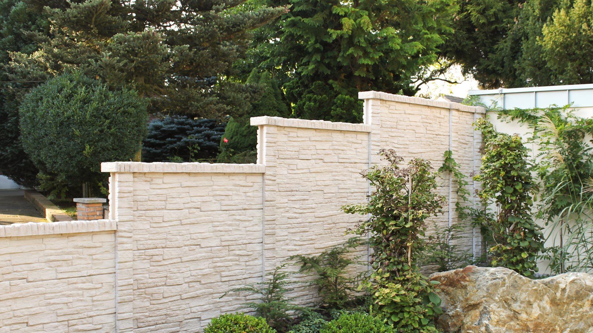Betonzäune lebens t raum terrasse rostock betonzäune betonzaun