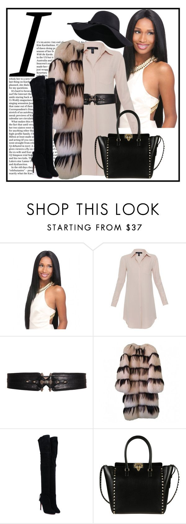"""Out and about Chi Town"" by peekaboo ❤ liked on Polyvore featuring Xander, Givenchy, Missoni, Aquazzura and Valentino"