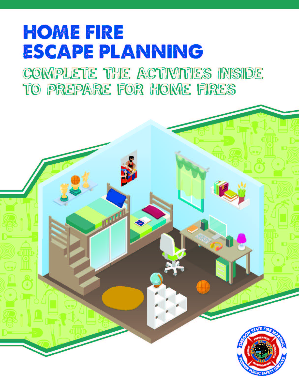 Home Fire Escape Planning Complete The Activities Inside