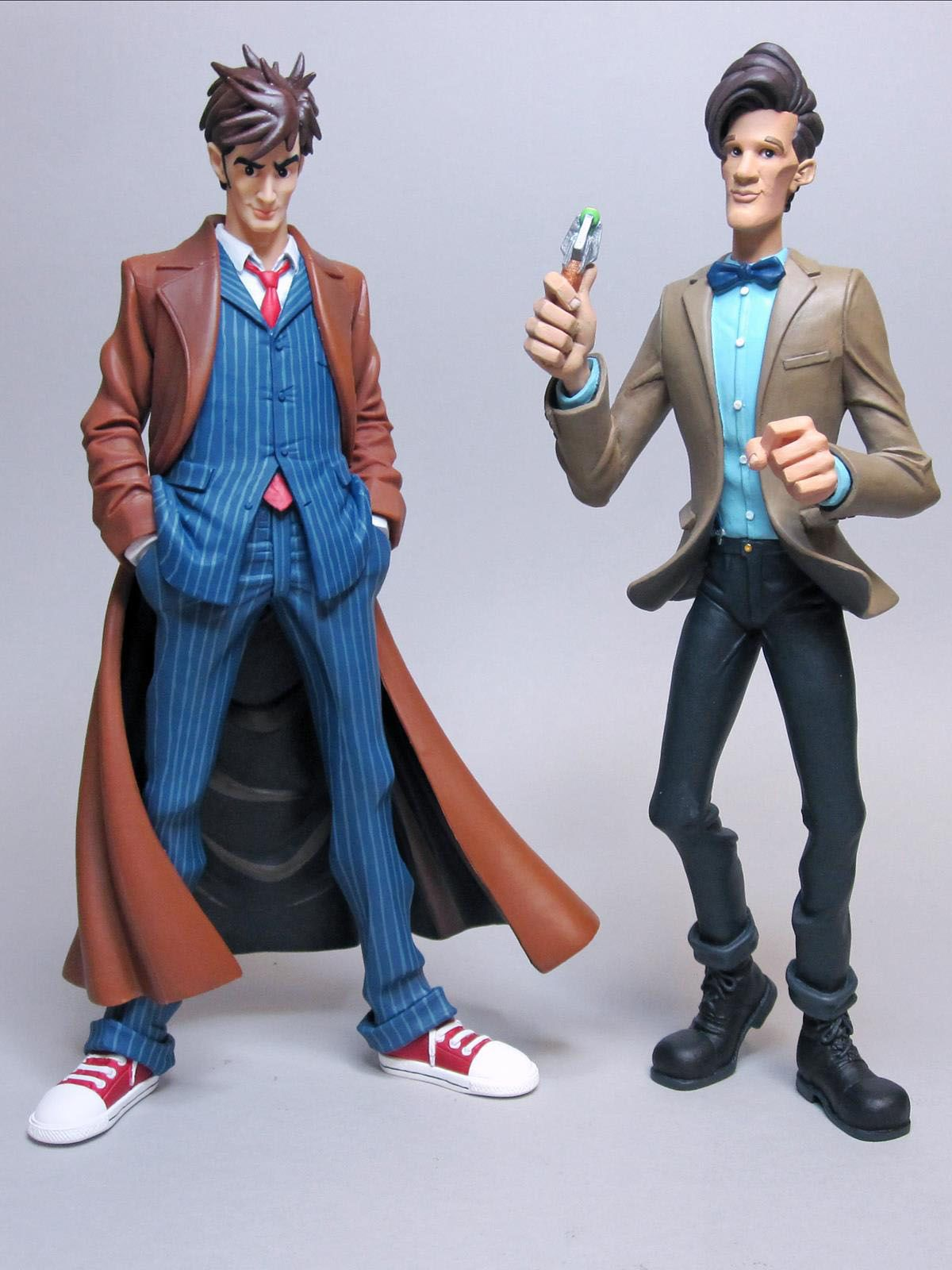 Doctor Who figurine vinyle Dynamix 10th Doctor BIG Chief Studios