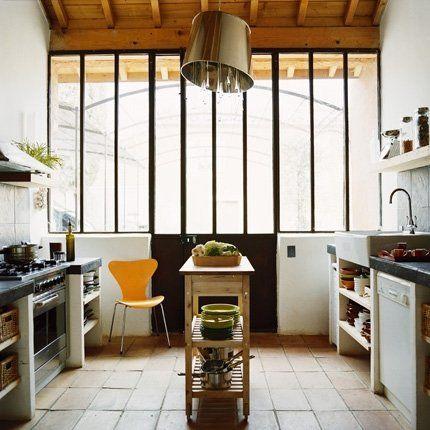 Protéger Un Sol De Terre Cuite Style Provençal Cellier Et Verrière - Carrelage cuisine terre cuite pour idees de deco de cuisine