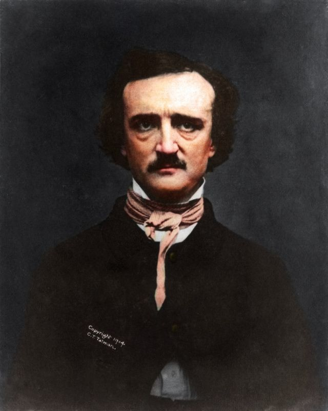 Poe Was Died On 7 October 1849 And The Photo Was First Published
