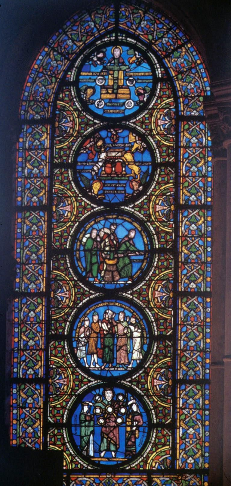 Gothic Period Art Stained Glass