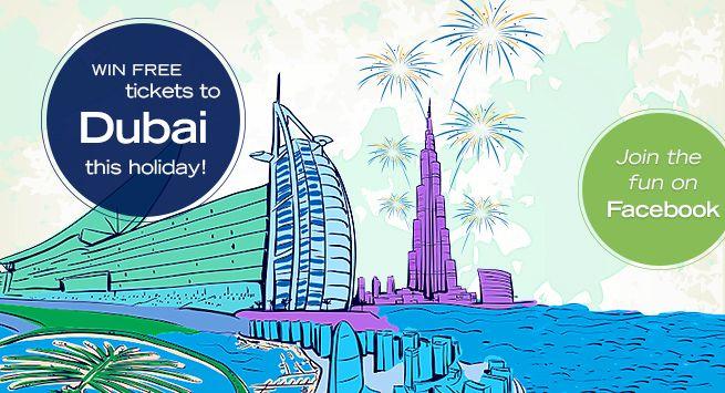 Win 2 FREE return tickets to Dubai this holiday http://goo.gl/yTsrpB  #holiday #Dubai