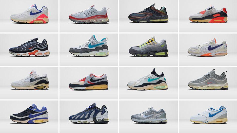 Nike Air Max Archive Nike presents, Nike air, Nike air max