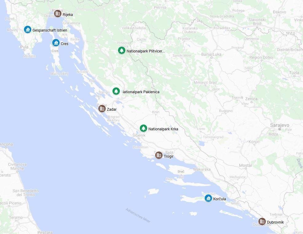 Die Schonsten Reiseziele In Kroatien Nationalparks Inseln