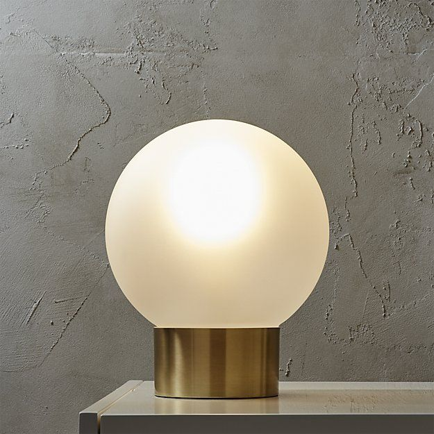 Light up your space with modern table lamps from CB2. Choose from on-trend…