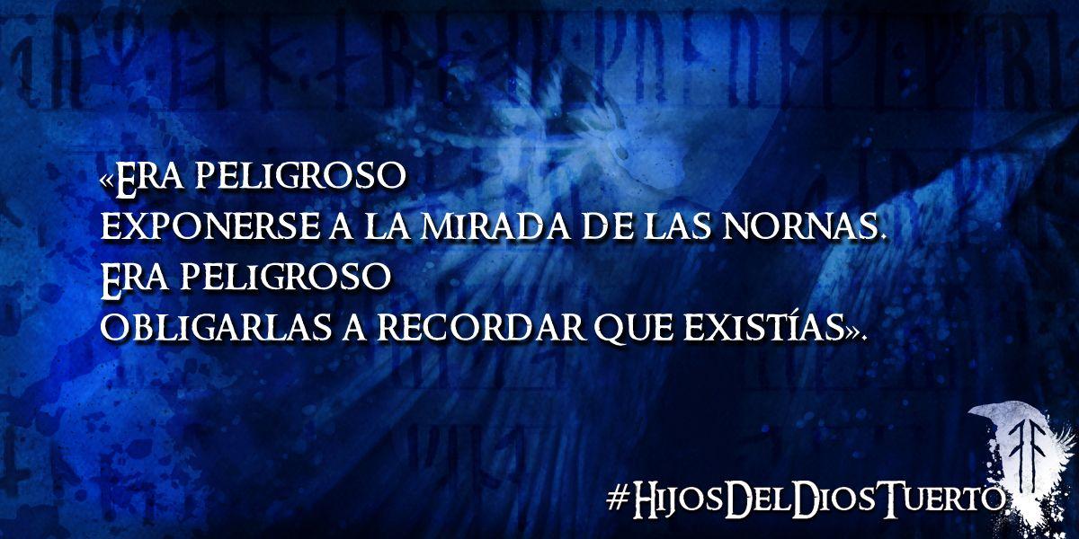 """De """"Hijos del Dios Tuerto"""" http://www.amazon.es/Hijos-tuerto-Virginia-P%C3%A9rez-Puente-ebook/dp/B01130HEC2/ref=sr_1_1?s=books&ie=UTF8&qid=1444253626&sr=1-1"""