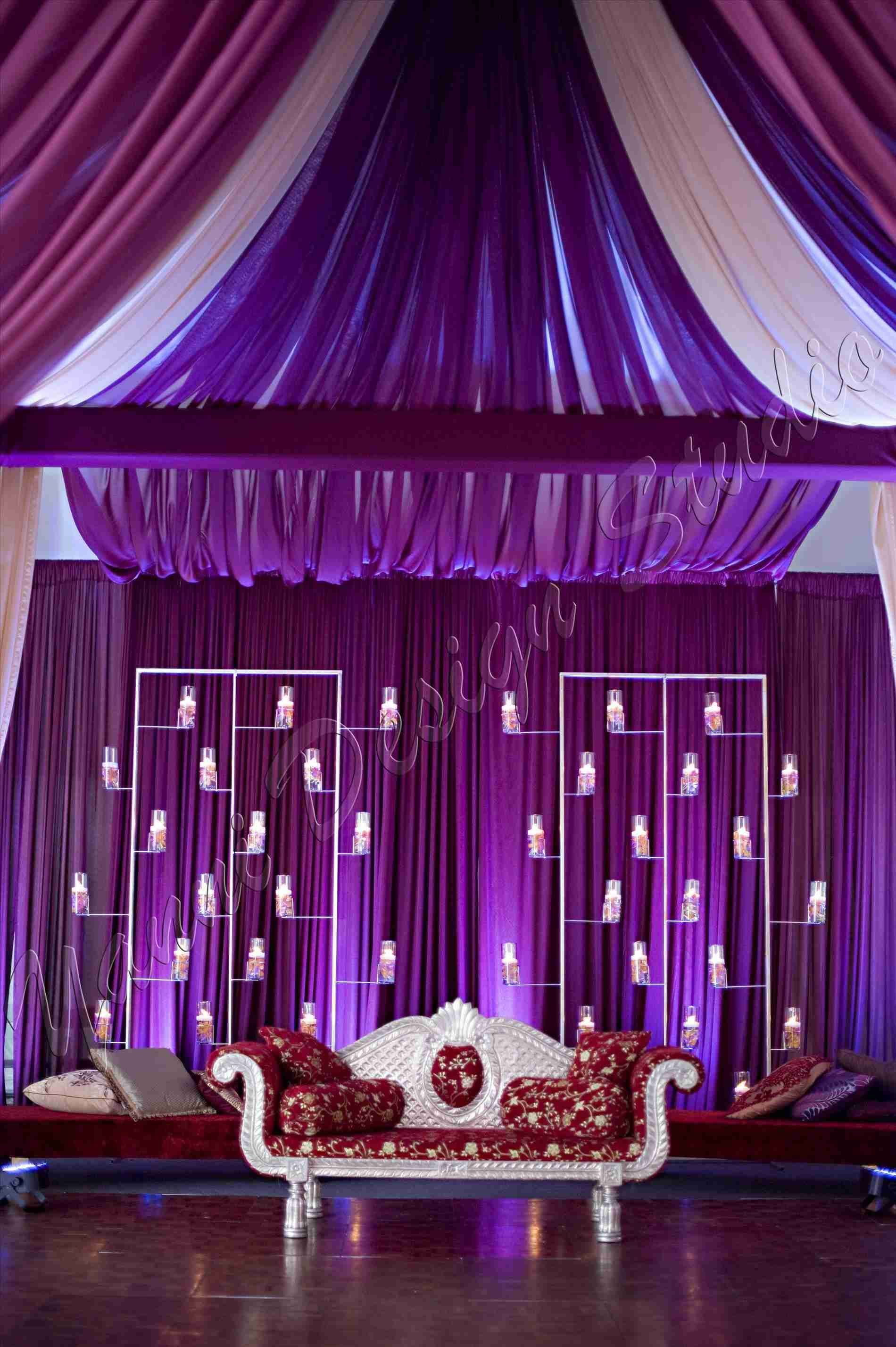 Simple Wedding Stage Decoration At Home Weddings Pinterest