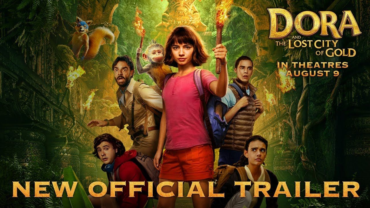 Dora And The Lost City Of Gold The New Trailer For Doraandthelostcityofgold Dora Thelostcityofgold By Jam Lost City Of Gold Lost City Paramount Pictures