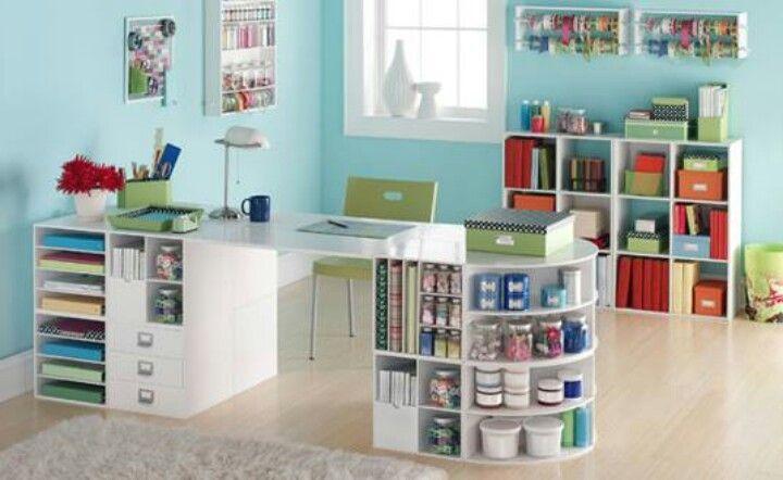 craft room makeover ideas Craft room idealove it Decorating