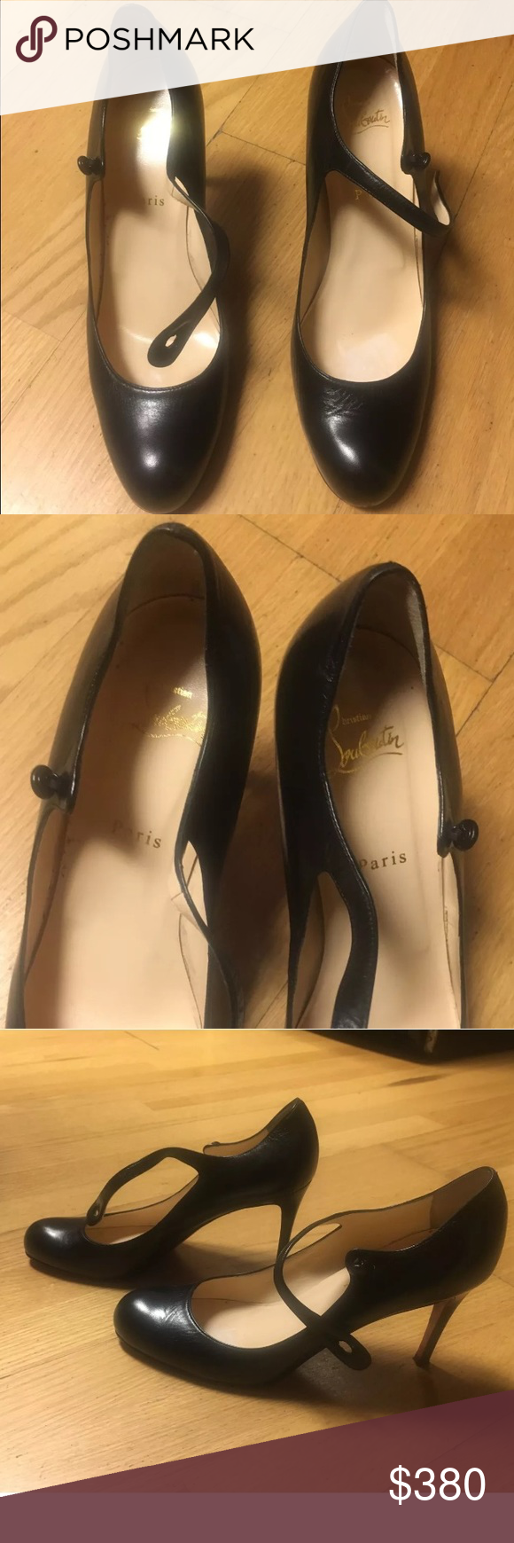 Mary Jane Christian louboutin Christian louboutin authentic Mary Jane style heels. Size 41, without box. They belong to my mom who can't wear heels any longer due to having a hip replacement. She wears a 10/10.5 us Christian Louboutin Shoes Heels