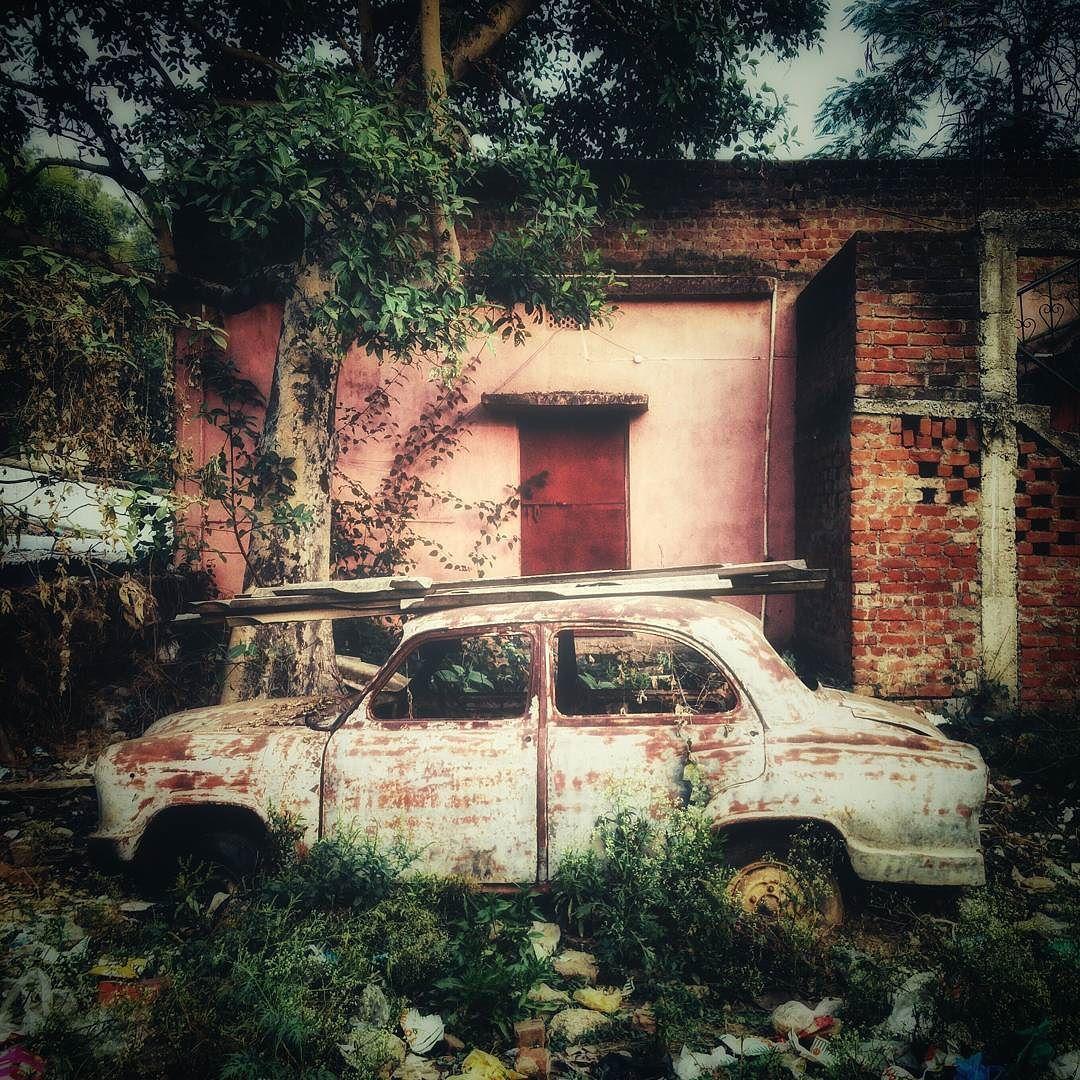 "Arjun Chhabra on Instagram ""A Hindustan Motors Ambassador"