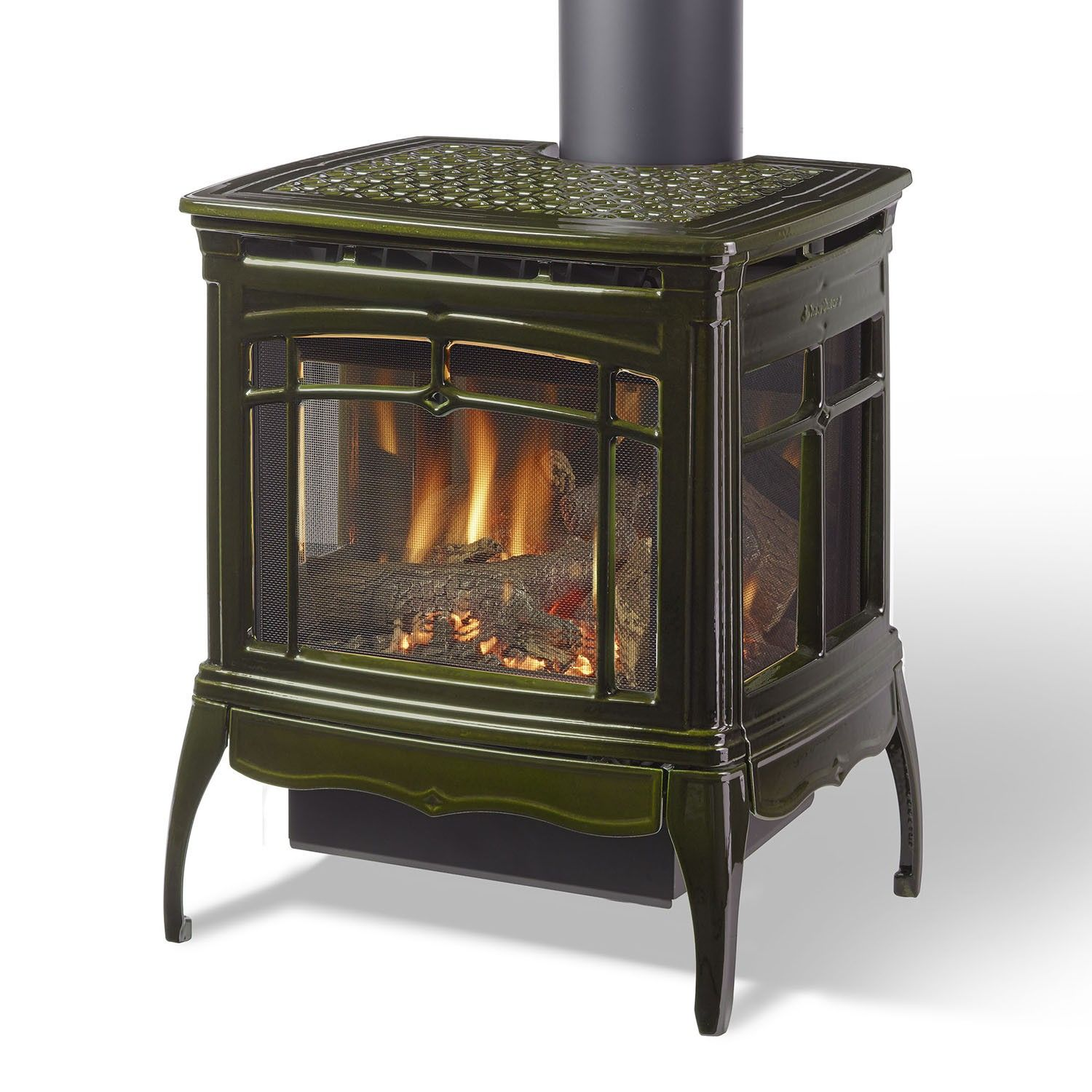 Hearthstone Bristol Freestanding Gas Fireplace High Country Stoves Fireplaces Direct Vent Gas Stove Gas Stove