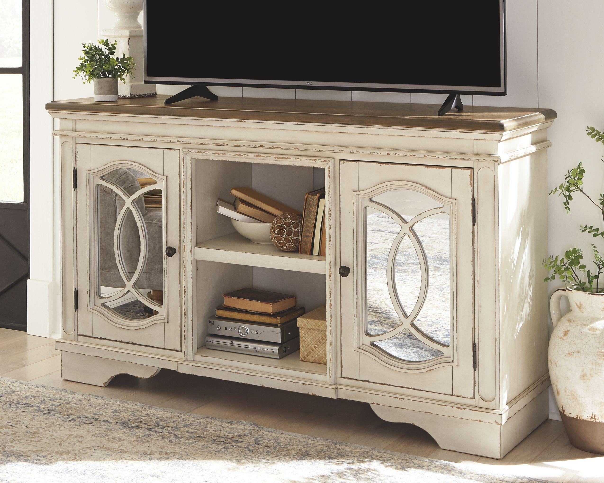 Realyn 62 Tv Stand Ashley Furniture Homestore Tv Stand Rustic Tv Stand Tv Stand Wood
