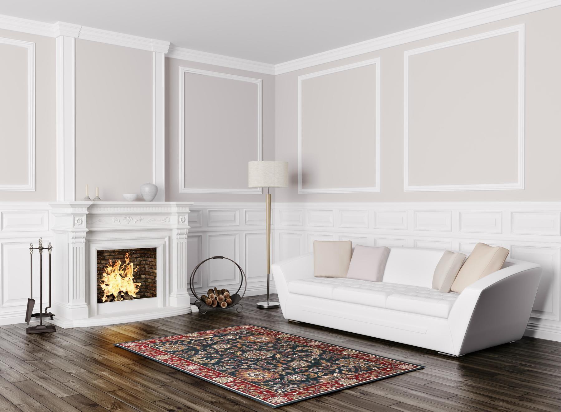 Kashan Rug Color Navy Size 8 x 11 Burgundy rugs