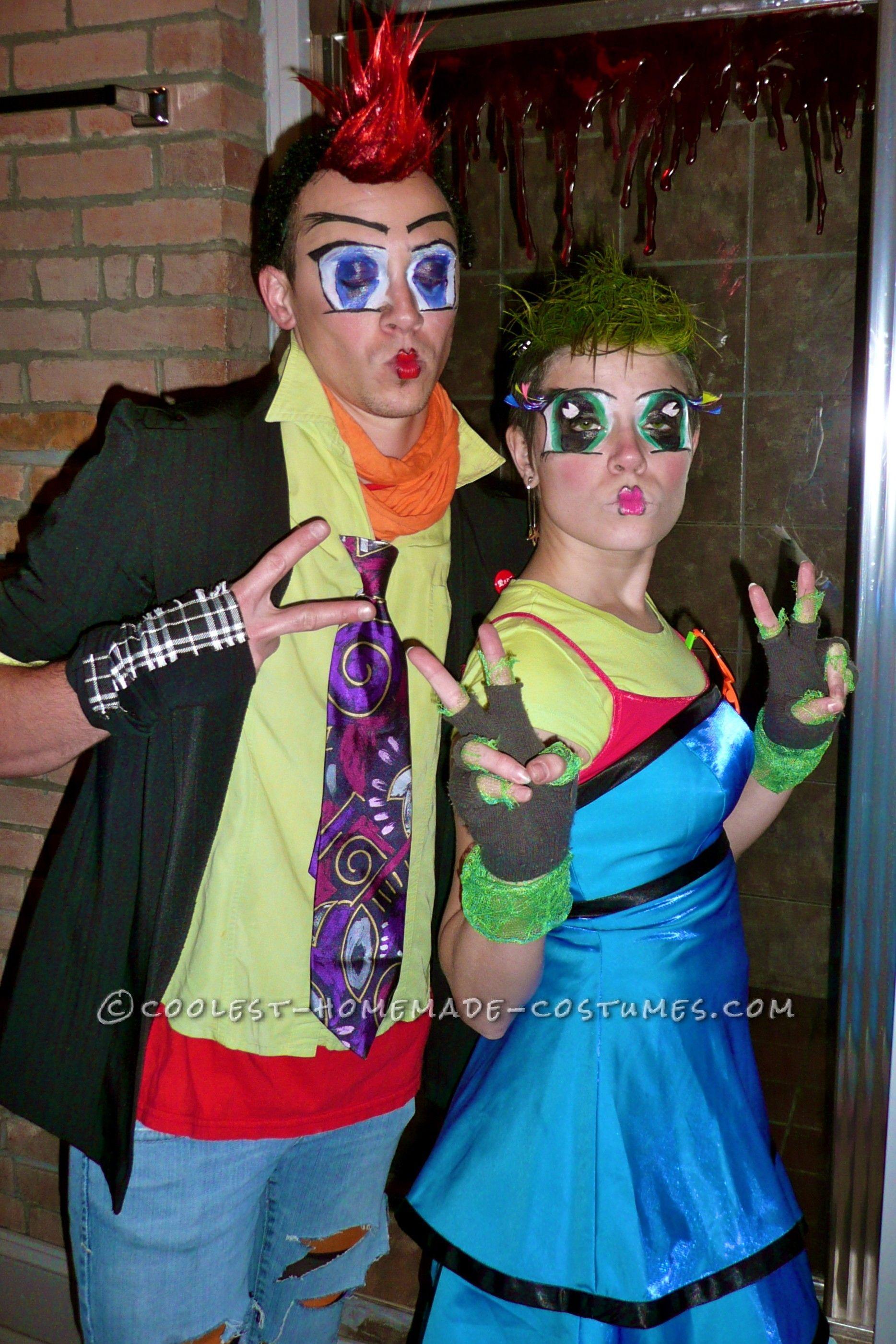 anime/harajuku street style couples costume | couples halloween