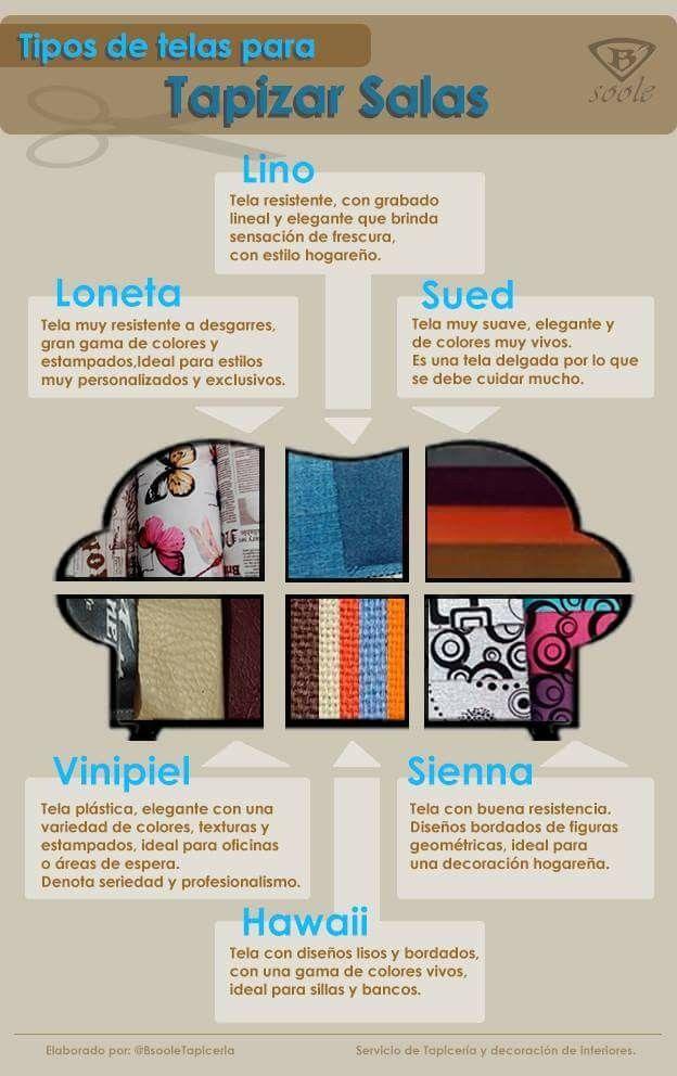 Tipos de telas para tapizar salas y muebles tapicer a personalizada pinterest tapicer a - Tipos de telas para tapizar ...