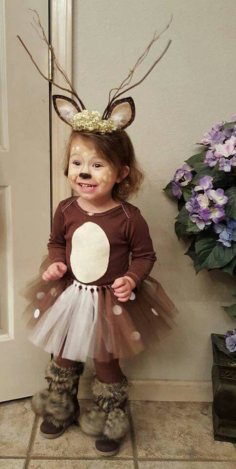 Adorable Infant, Baby and Toddler Halloween Costumes Deer costume - cute easy halloween costume ideas