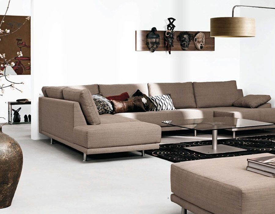 Brown And White Living Room Furniture - Euskal.Net