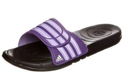 63c7293f68b Adidas Performance Taedia Vario Chanclas De Baño Black Purple Las Sandalias  Y Chanclas Deportivas Las sandalias