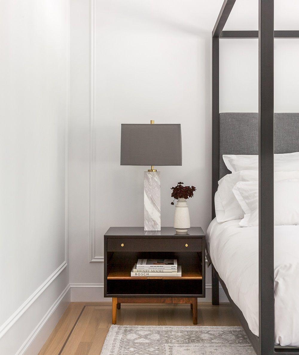 Best White Paneled Walls Vintage Rug Mid Century Modern 400 x 300