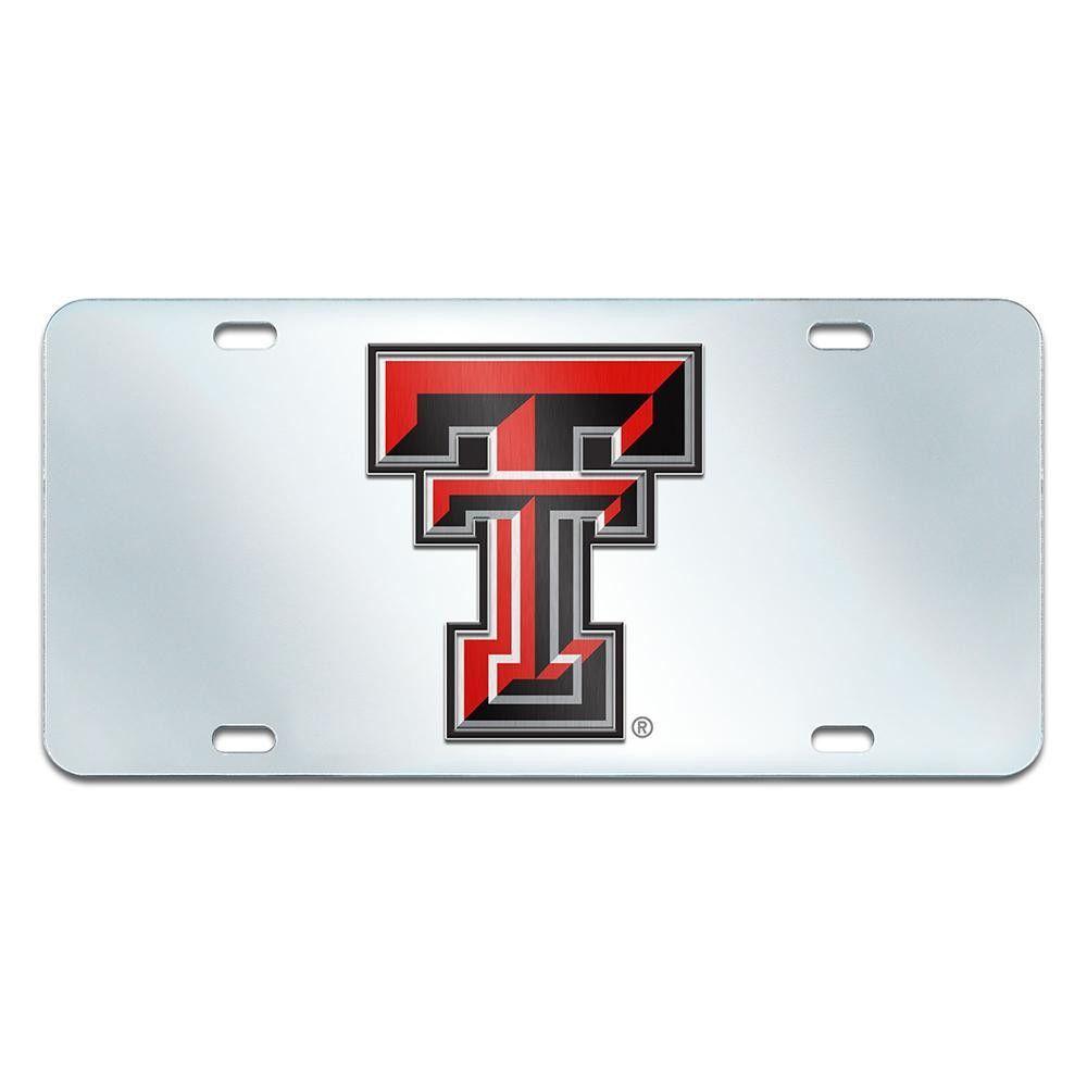 NCAA Oklahoma State Cowboys Laser Inlaid Metal License Plate Tag