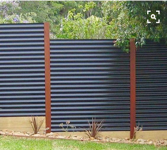 vallas metlicas cerramiento cercos ladrillos cierre valla de metal corrugado vallas de hierro cerca de acero ideas para cercas baratas - Vallas Metalicas Baratas