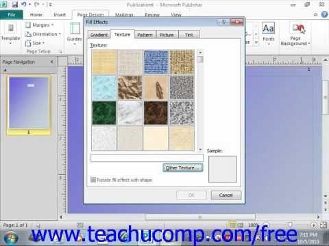 ms publisher 2010 tutorial pdf