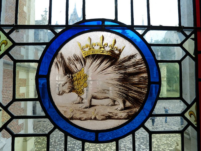 Louis XII's porcupine