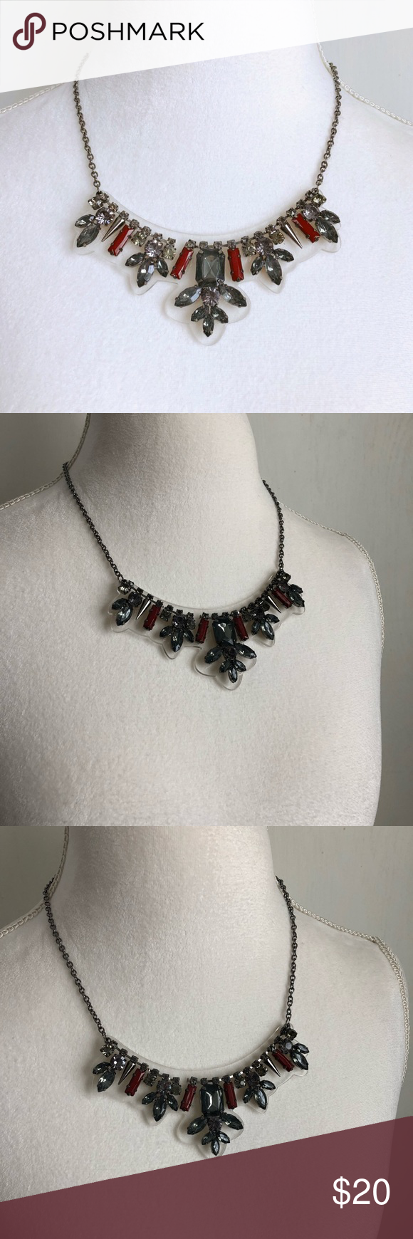 Statement Necklace Gorgeous Statement Necklace With A Gun