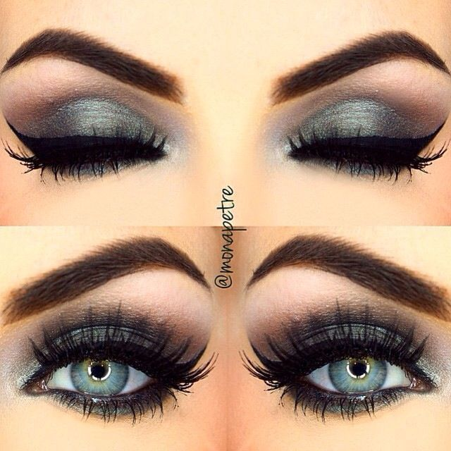 tendance maquillage yeux 2017 2018 makeup and nails. Black Bedroom Furniture Sets. Home Design Ideas
