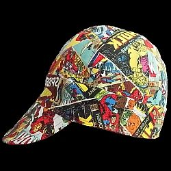 WELDING CAP MADE WITH BUTTERFILES FABRIC