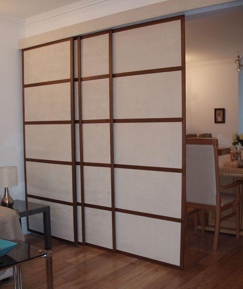 Door Separator Room Separator Ideas: Sliding Room Divider Doors